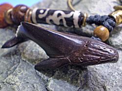 ウッド(木彫り)/ザトウクジラ